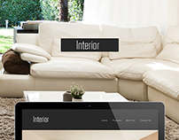 Interior Furniture Website Design