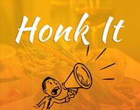 Honk It Mobile App Ui