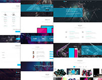 Kasper – Free Business One Page PSD Template