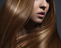 Hair retouching for Araman Studio