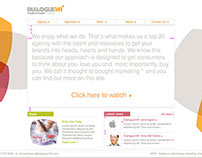 Website design development for Dialogue141