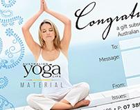 Australian Yoga Life Material