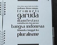 Sakata—Type specimen book.