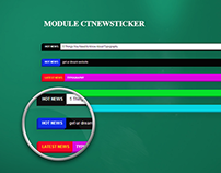 CT Newsticker - Joomla! Newsticker Module