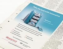 Numeron Newspaper Ad