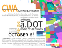 a.DOT (architects.Doing Other Things) exhibit invite