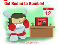 Get Redmi to Rumble