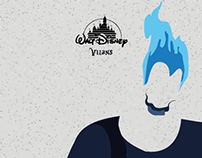 Minimalist Disney Villains
