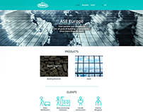 ASE Europe Wordpress Website Design