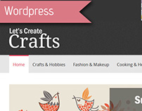 Wordpress - LetsCreateCrafts