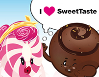 Illustrations for Sweettaste