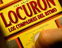 Los Compadres del Ritmo: Locurón (Album Cover)