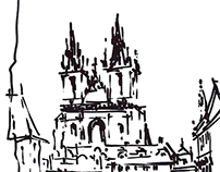 Sketches from Prague