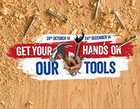 Jewson - Hand Tools Promo