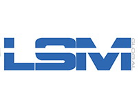 LSM Global Logo Mockup