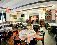 "Design interior restaurant ""Samogon-bar"""