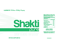 Shakti Pure Label Design