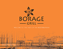 Borage Grill Menu