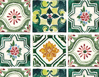 Tiles of Taiwan 台灣老花磚