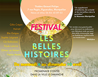 Poster design: the beautiful histories Festival
