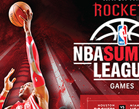Rockets NBA Summer League - Print Marketing Campaign