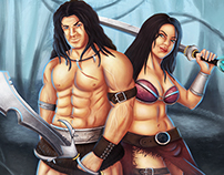 Barbarians - Characters Design