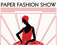 Paper Fashion Show Poster