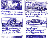 Mars Trilogy Storyboards