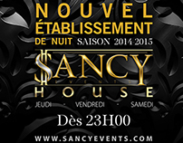 Sancy Event Flyer