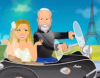 ANIMATION | Wedding Cartoon - Love Story