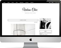 Urban Chic Blog Template
