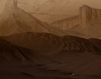 Mars - Down in Noctis Labyrinthus