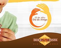 Dia do amigo   Doce & Festa - Distribuidora