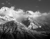 Road to Anapurna