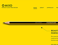 Mixd Agency Website