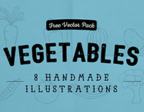 Vegetables - Free Handmade Illustrations