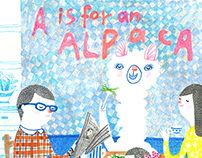 A is for an alpaca