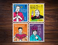 Scottish Independence Referendum Stamps.