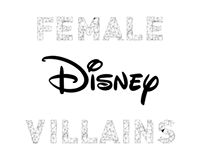 Geometric Female Disney Villains