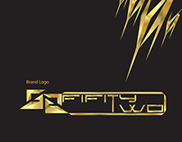 52 Fifty Two Logo Golden Edition