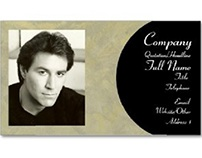 Add Your Picture Business Card Template.