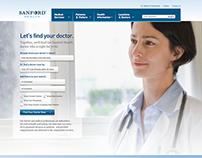 Hospital Network Website