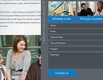 University Recruitment Website
