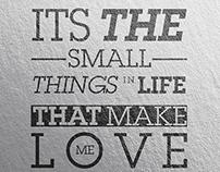Typo love