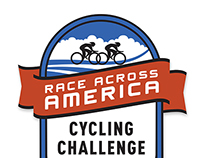 Race Across America Cycling Challenge Logo