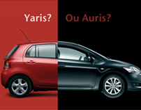 Toyota Campaign - Yaris? Or Auris?
