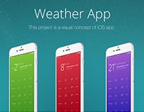 Concept Weather App iOS