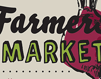 2014 Downtown Troy Farmers' Market Poster Series