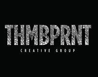 THMBPRNT logo design