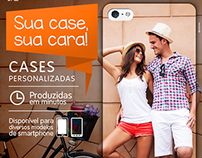 """Campanha """"Sua case, sua cara"""" New Case Brasil"""
